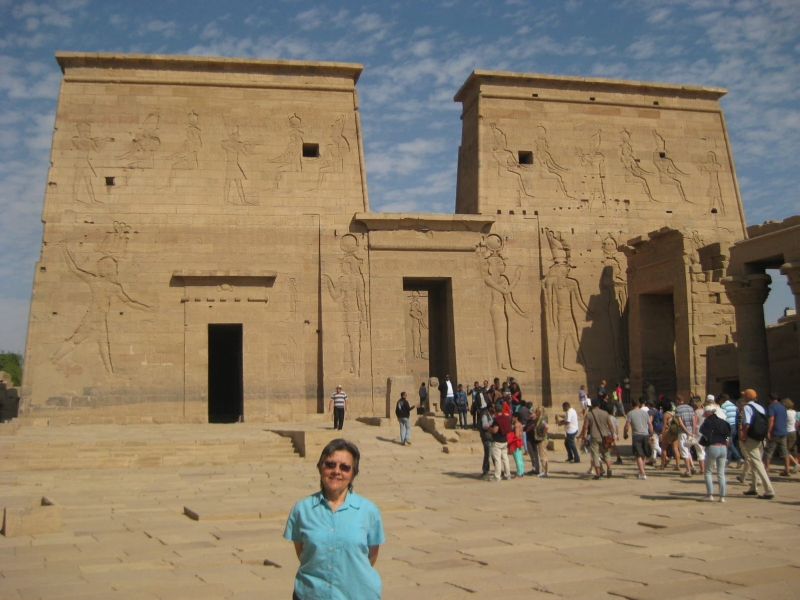 04 201412_25 Philae Temple for Isis in Aswan Egypt 3