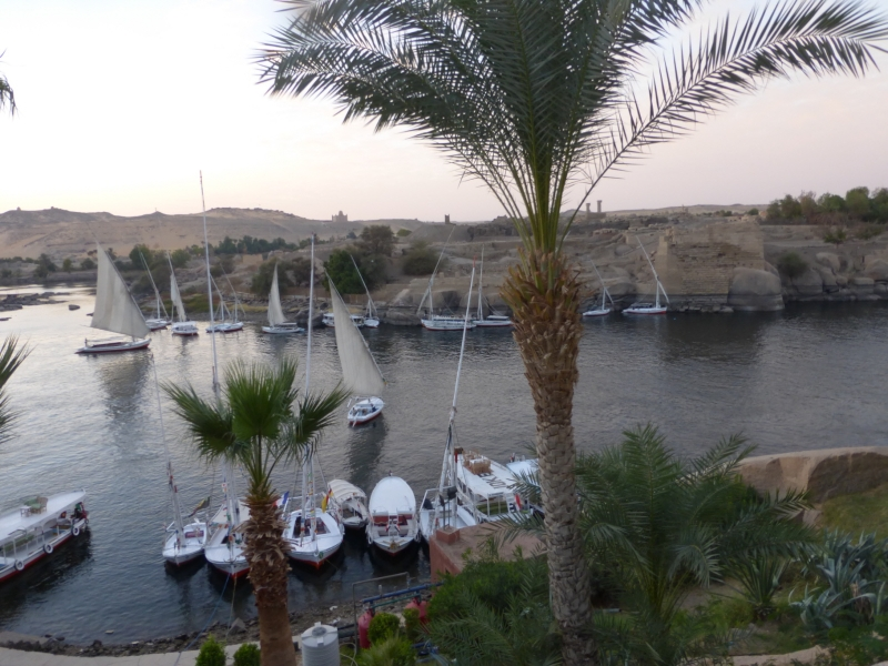 07 201412_25 Aswan-Old Cataract Hotel -View of Nile River